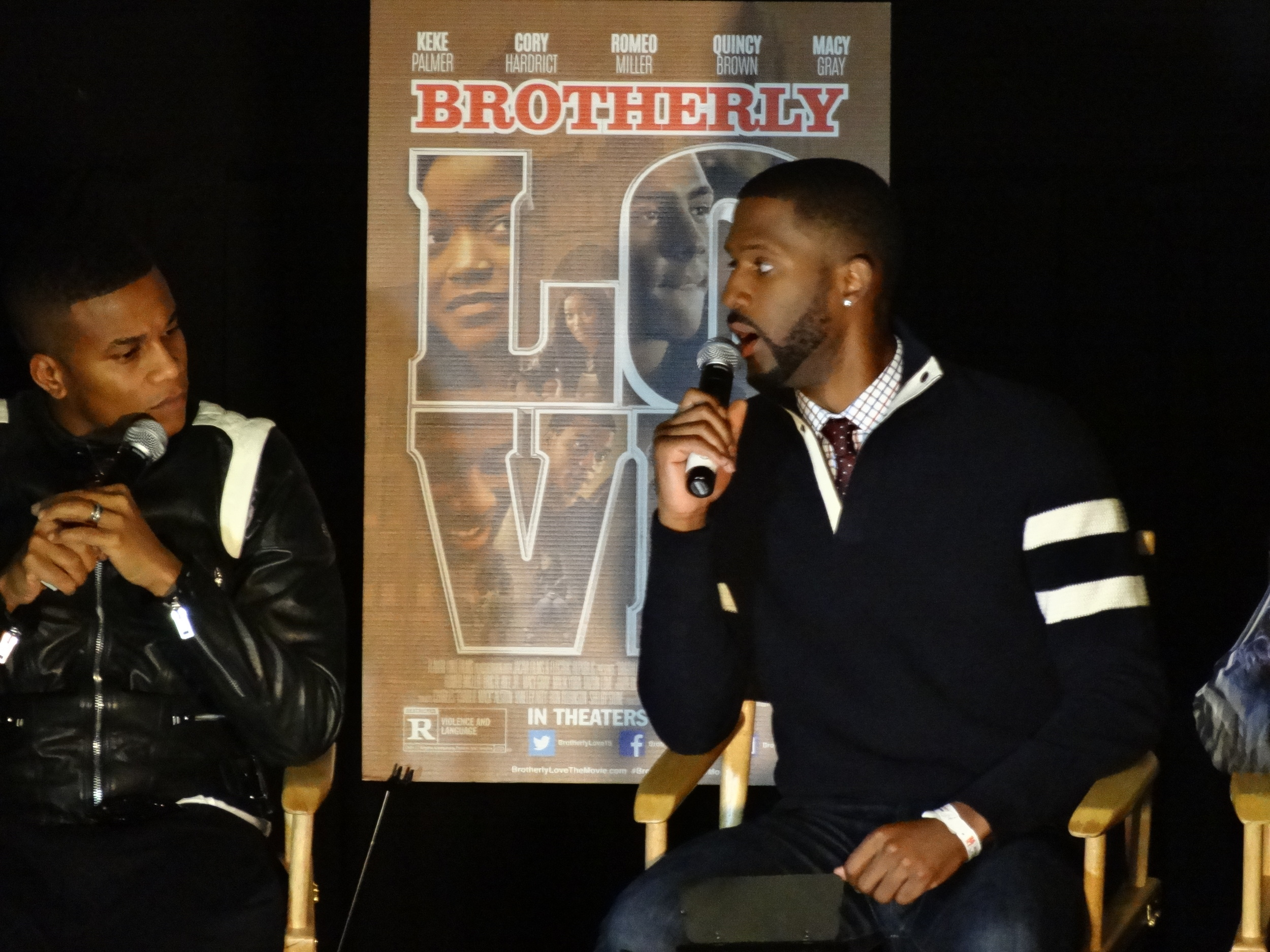 Cory Hardrict and Eric D. Hill Jr.