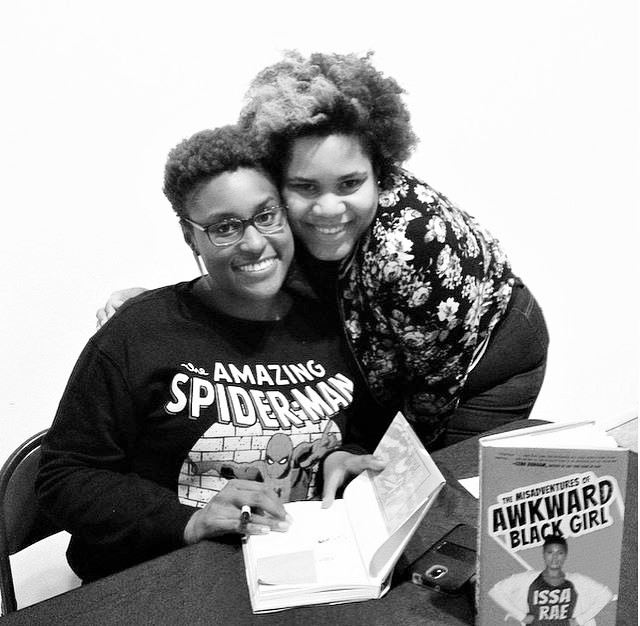 Founder, Charell meets Issa Rae