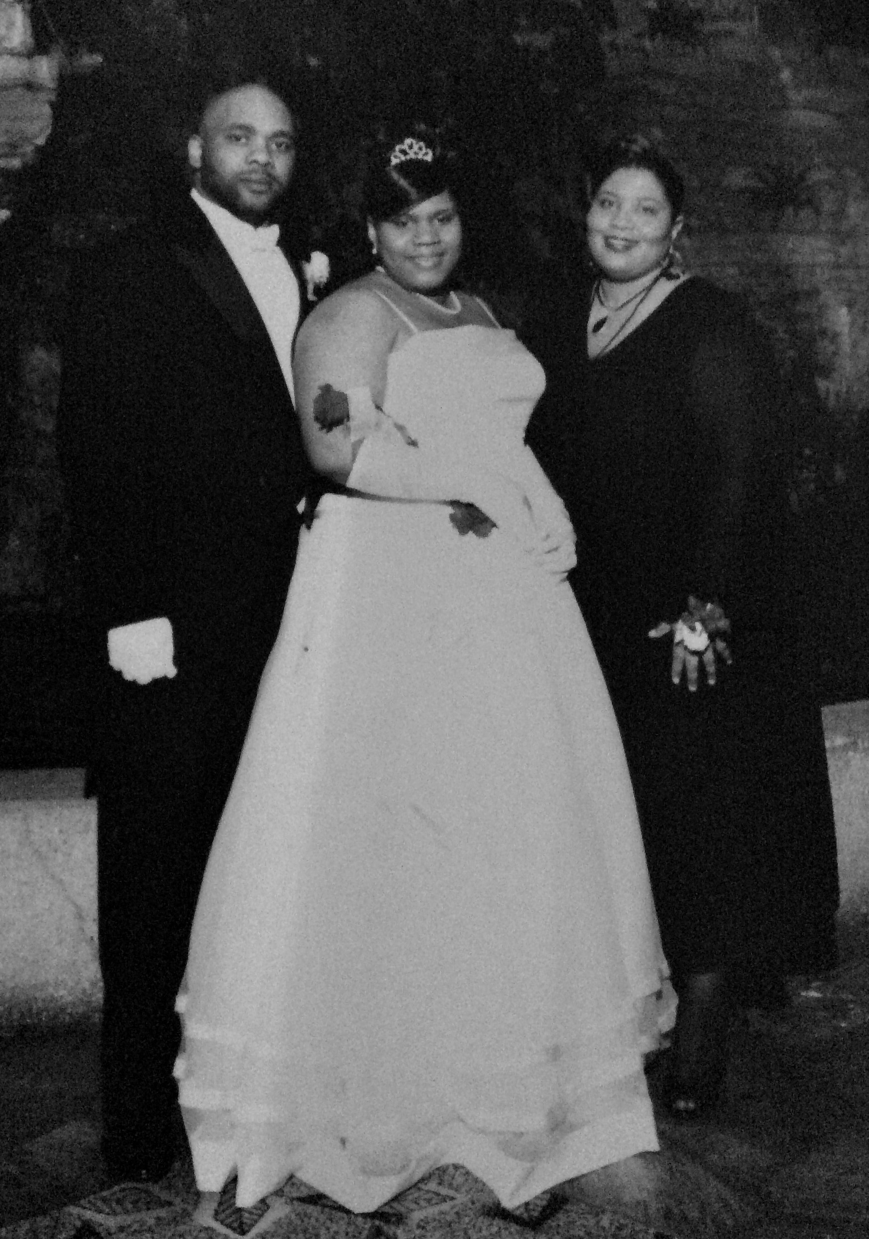 Founder, Charell with parents at 2008 Delta Sigma Theta Cotillion