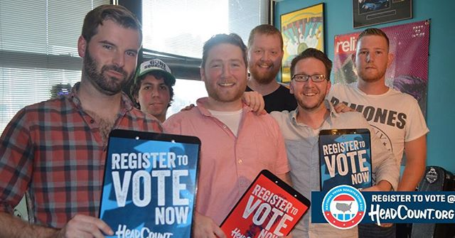 "Big election this year. Text ""COUNT"" to 384-387 to REGISTER TO VOTE or visit @HeadCountOrg & click the register to vote link on top #VoterRegistrationDay"