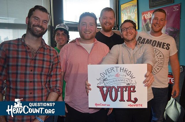 Did you know that early voting has already started in most states? Go to @HeadCountOrg and click the link on top to see if you can #GoVote now!