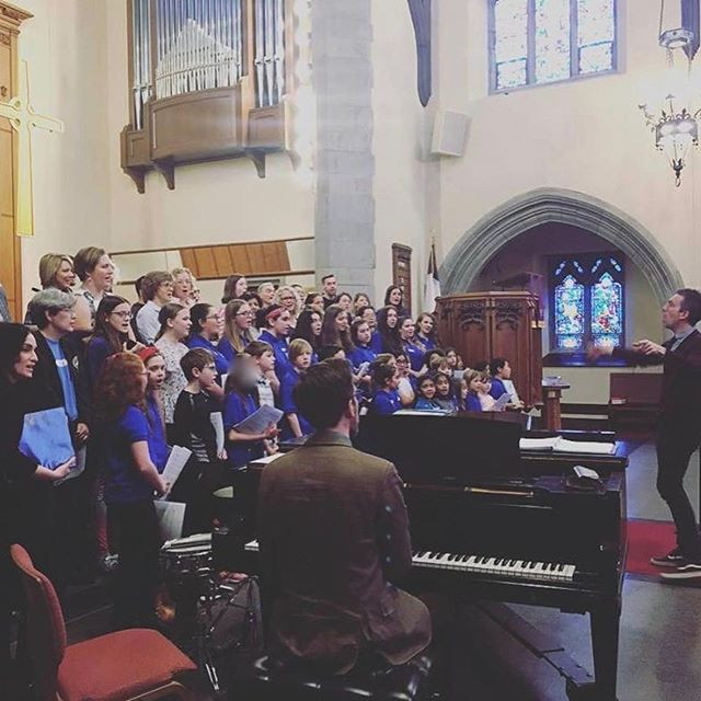 What an AWESOME workshop with Composer/Arrangers Matt Podd and Adam Podd. They worked with our WCChorus students plus members of the Westchester community on two of their fabulous pieces. It was great for our young singers to learn from these two inspirational musicians!