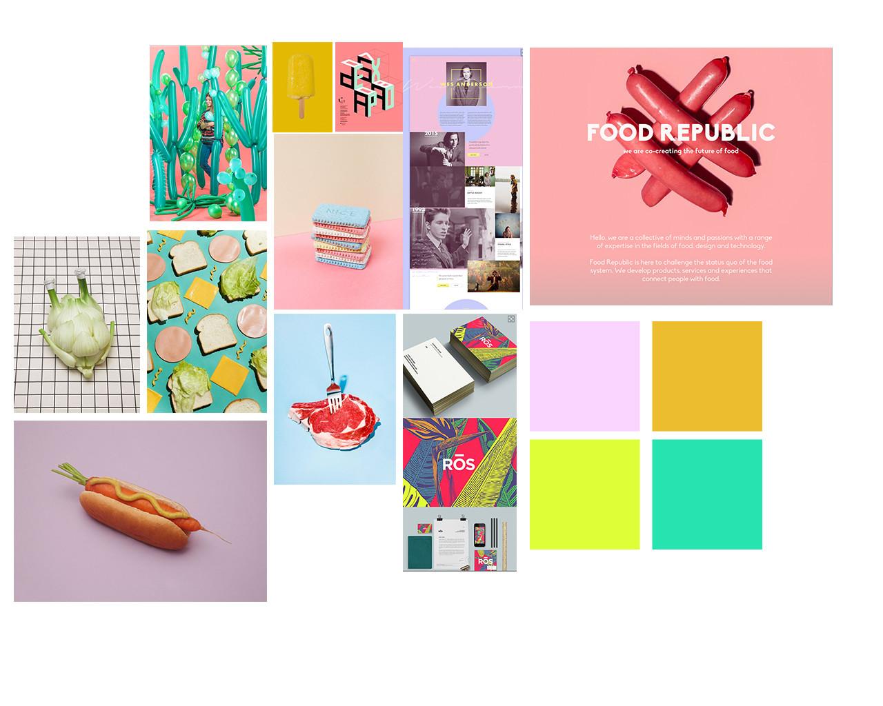 Food Republic Brand & Website — Louise Handyside