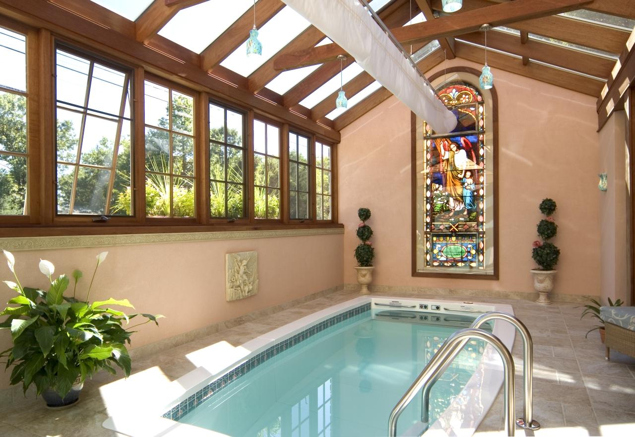 Custom Pool Enclosure (interior)