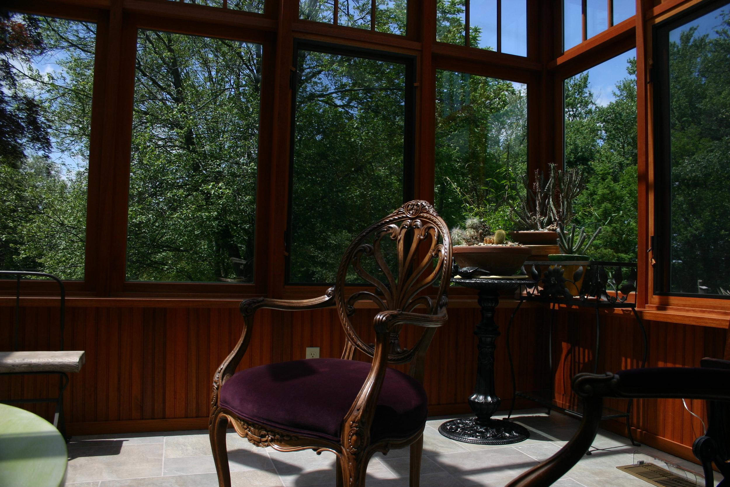 Modular Sitting Area Conservatory