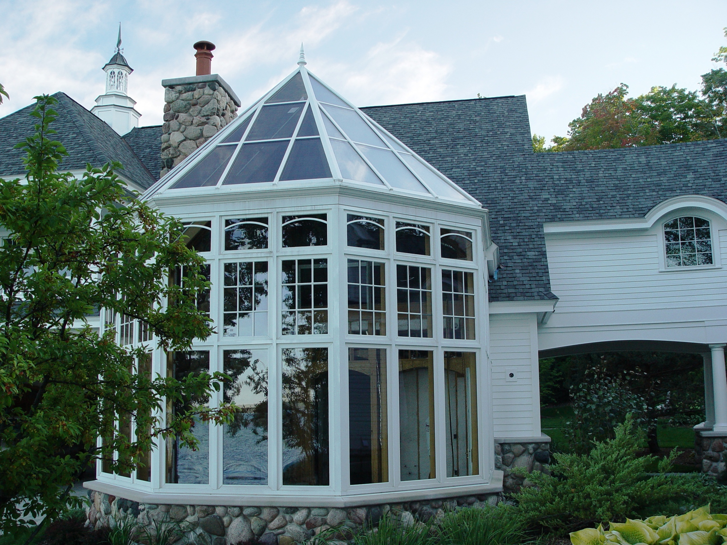 2-Story Octagon Victorian Conservatory