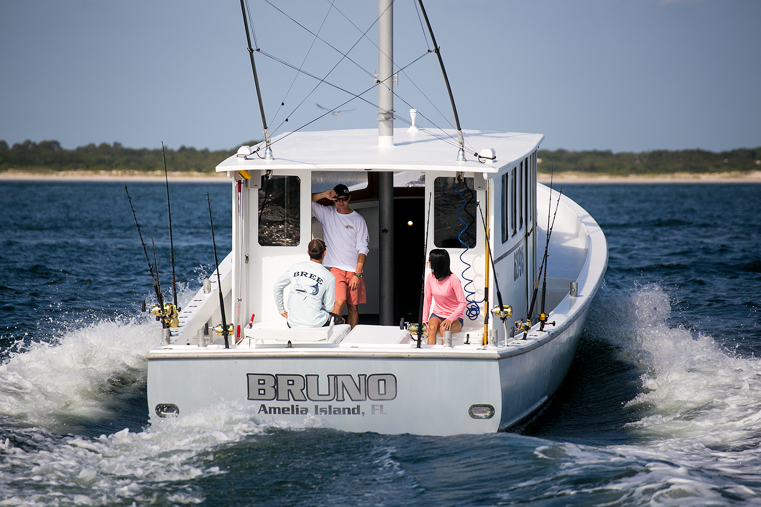Fishing guide charter captain photography sample