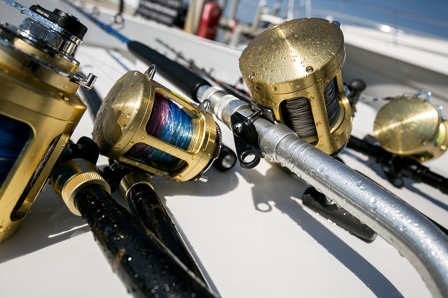 Fishing tackle photography sample