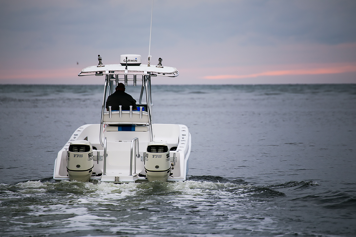 Fishing boat photography sample