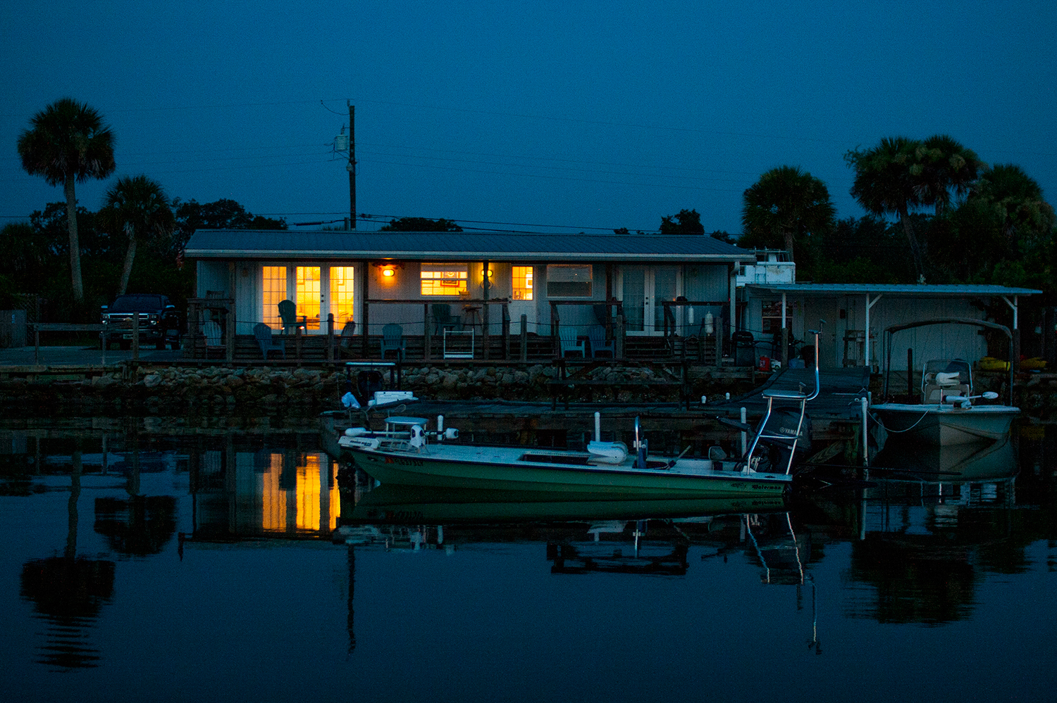 Fishing lodge destination photography sample
