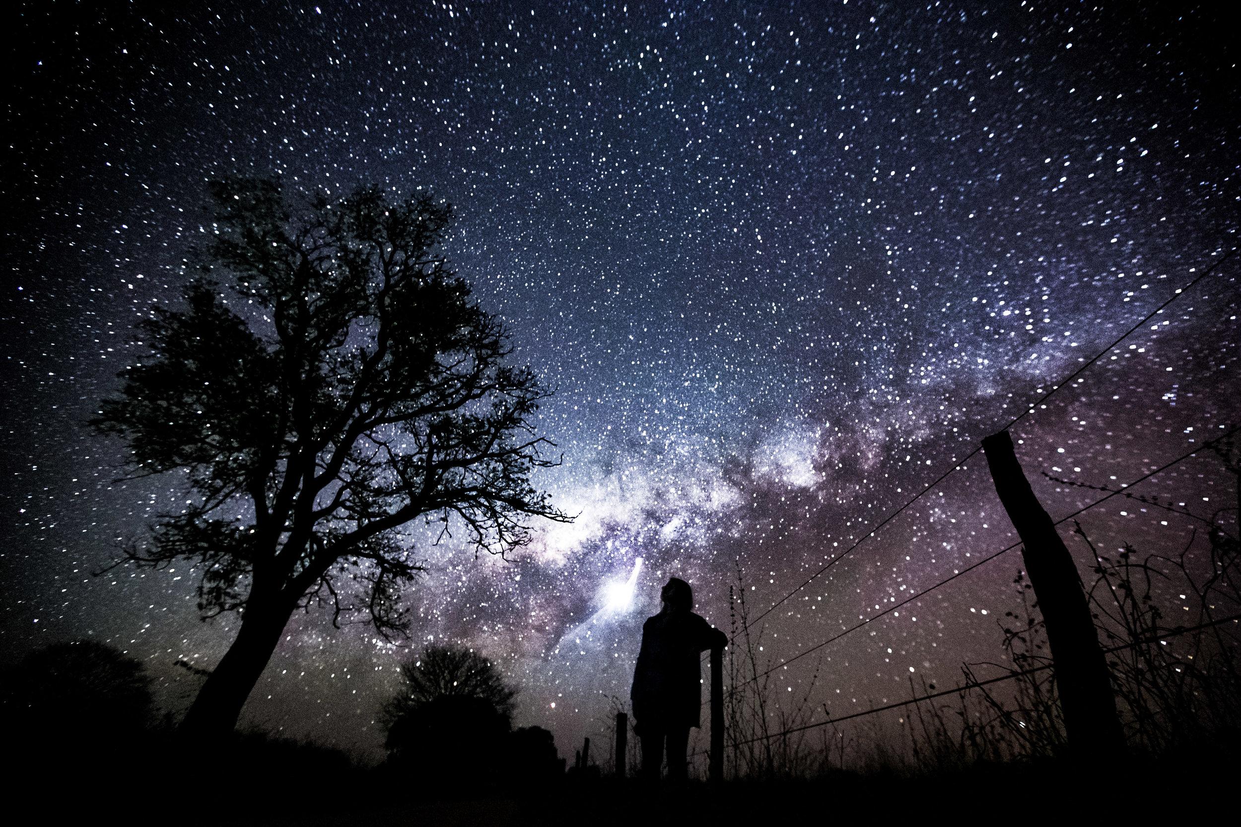 Caçando estrelas no norte de Minas Gerais