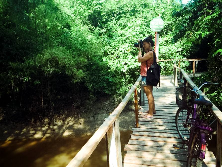 Mochilinha explorando a Ilha do Marajó, na primeira vez que fui pro Pará.