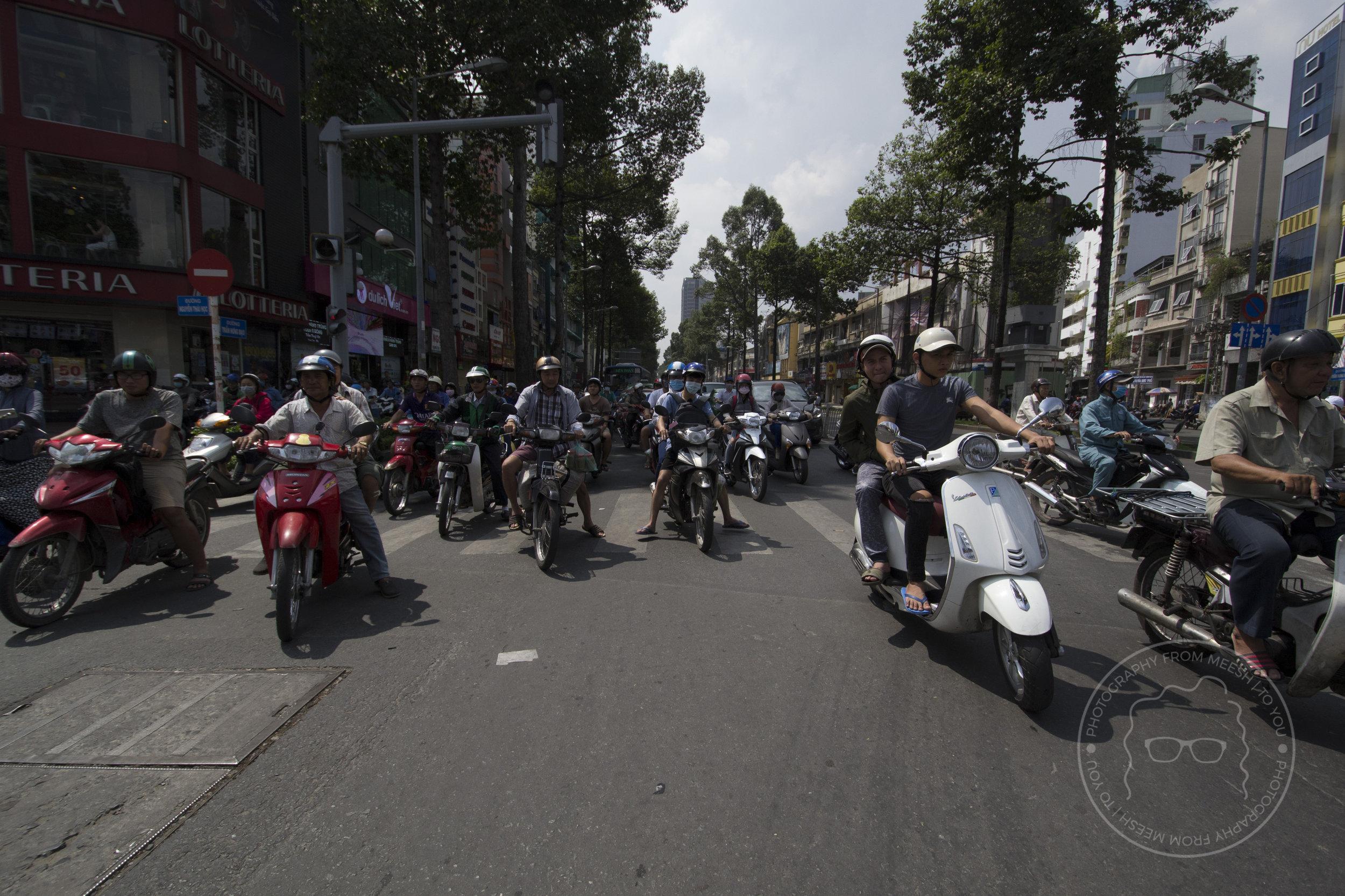 Motorbikes | Ho Chi Min City, Vietnam | 2017