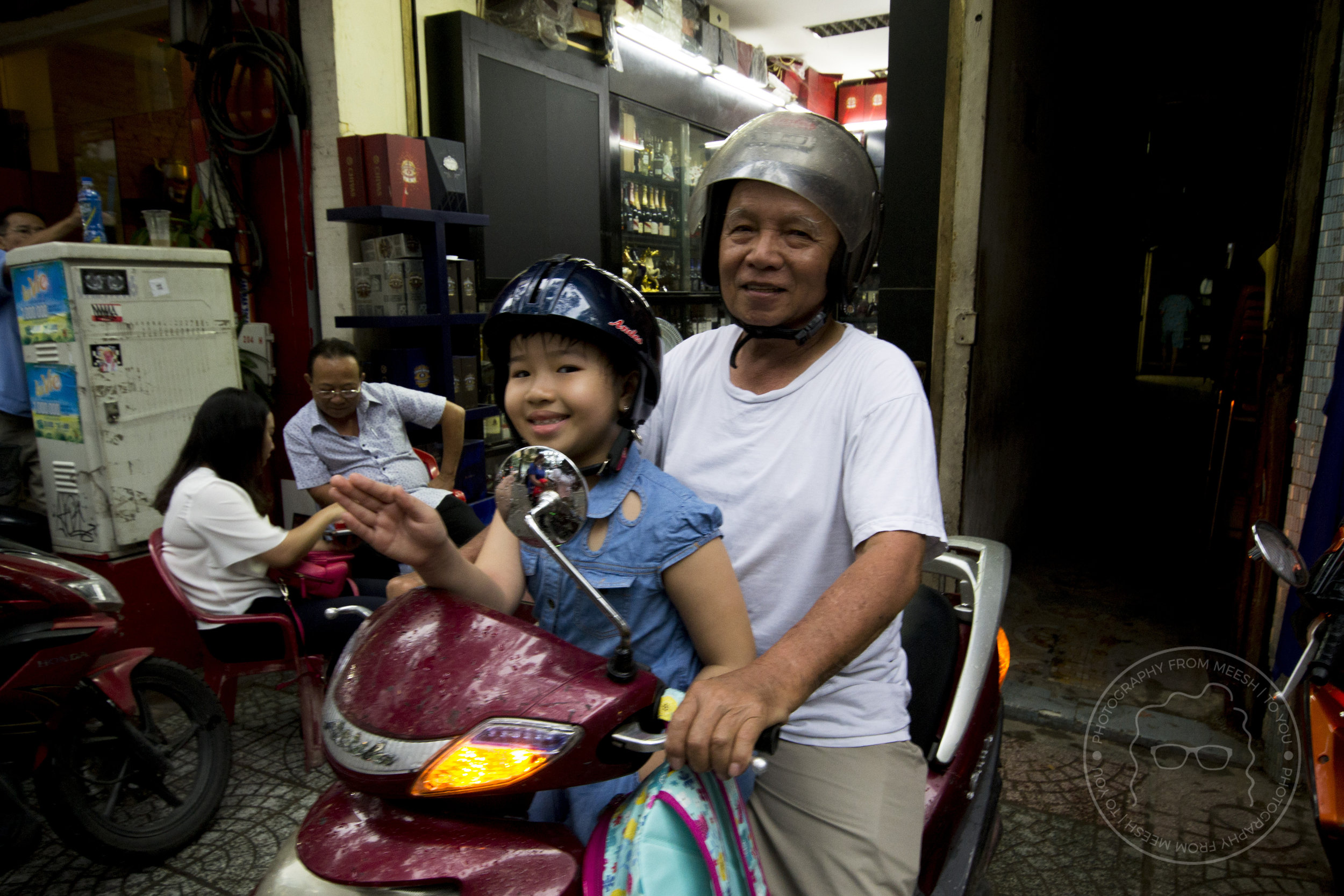 Grandfather & Granddaughter | Ho Chi Min City, Vietnam | 2017