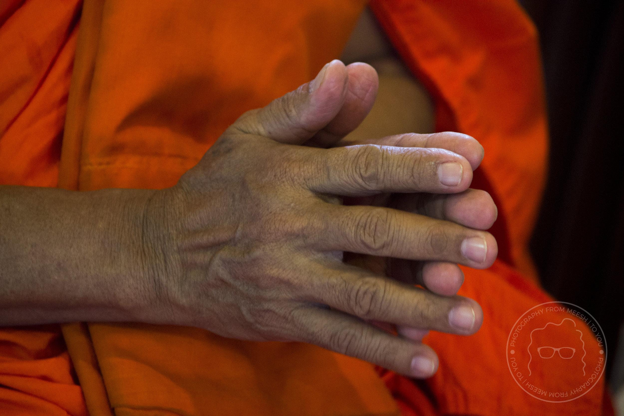 Praying Monk | Bangkok, Thailand | 2017