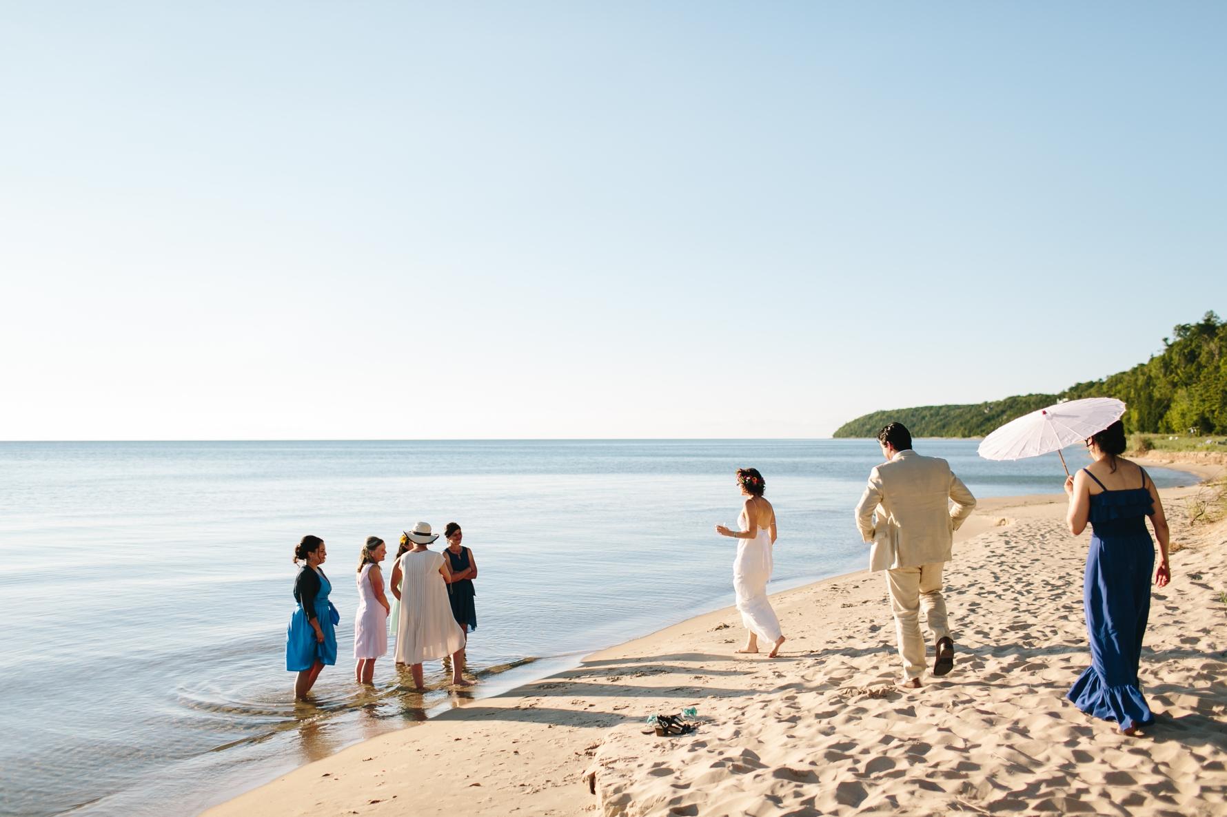 Clara + Mauricio's Harbor Springs Wedding