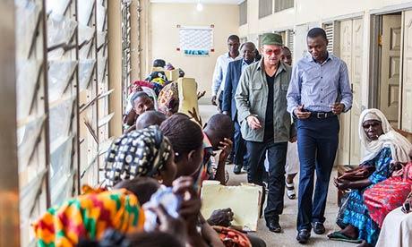 Bono in Ghana Copyright The Observer 2013