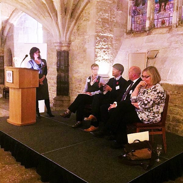 Launching 'More to Give' at London's Guildhall