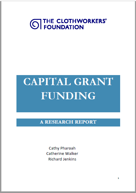 Clothworkers Capital Grant Funding report cover.png