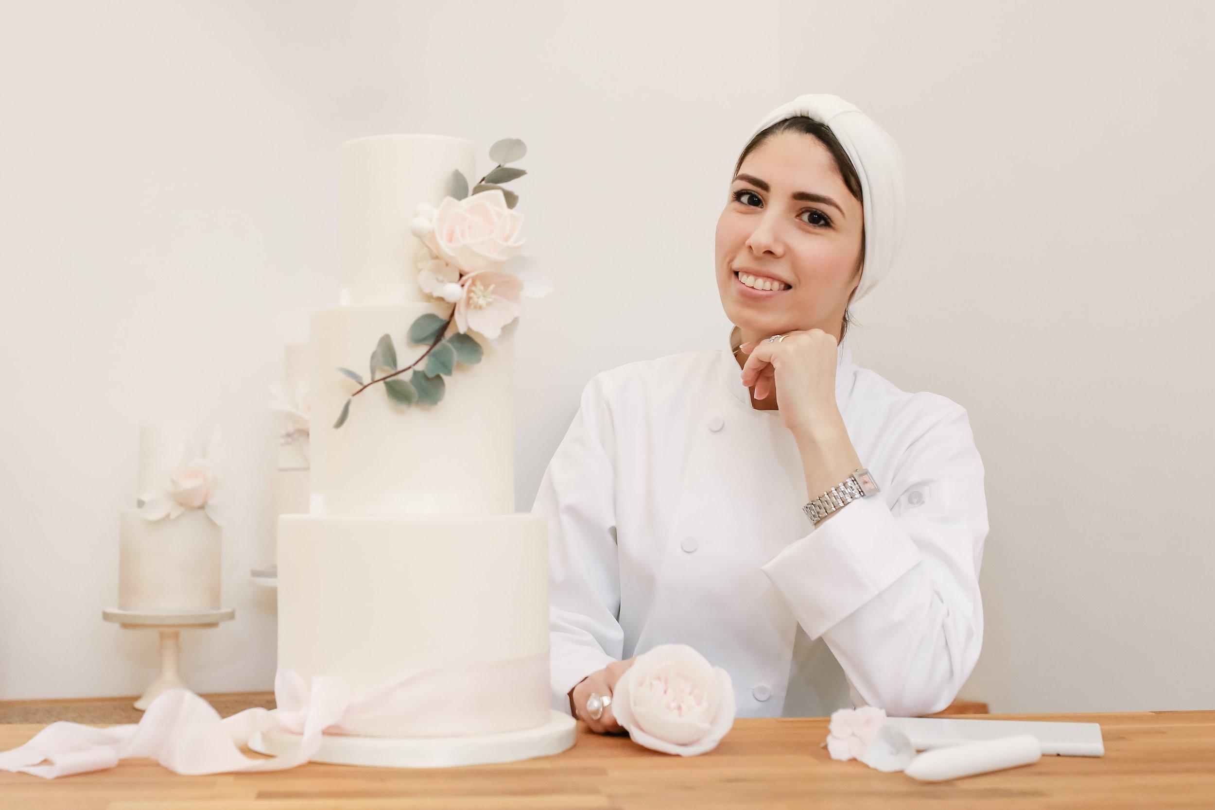 Nina Y K cake designer, Meadowsweet Cakes