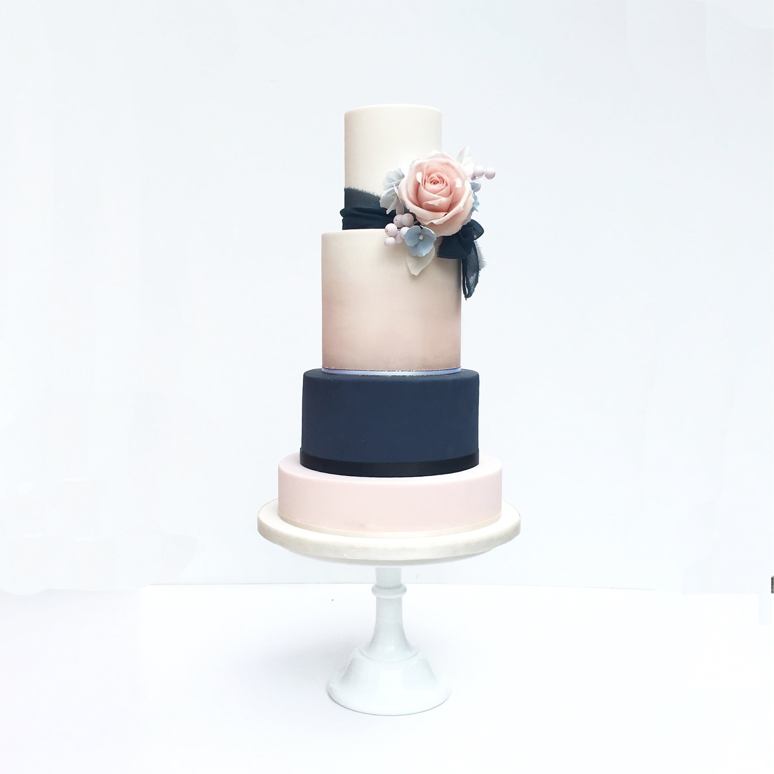 Luxury wedding cakes by meadowsweet cakes