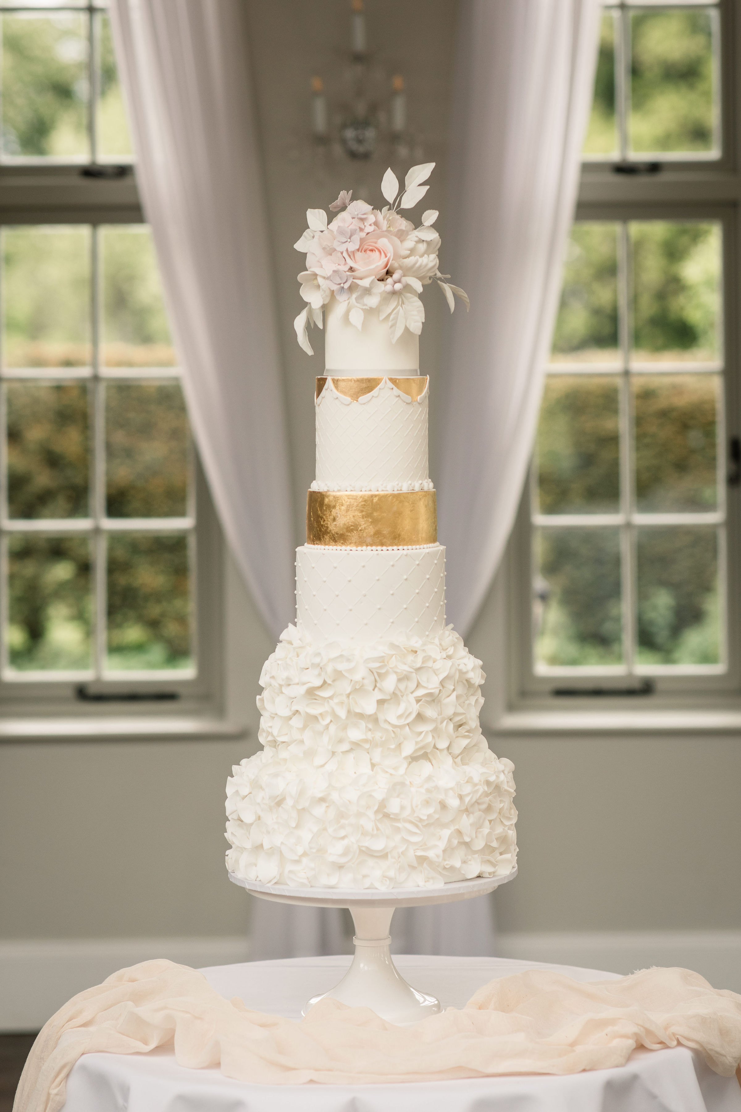 Offley Place Wedding Cake