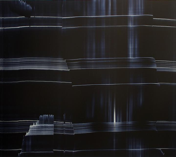 Miriam Cabessa,  Untitled 5 , Oil on masonite, 48 x 48 in