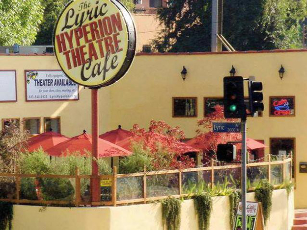 The Lyric Hyperion Theatre & Cafe, Silverlake, Los Angeles (MAP)