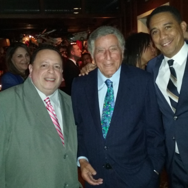 Chino Pons and Tony Bennet