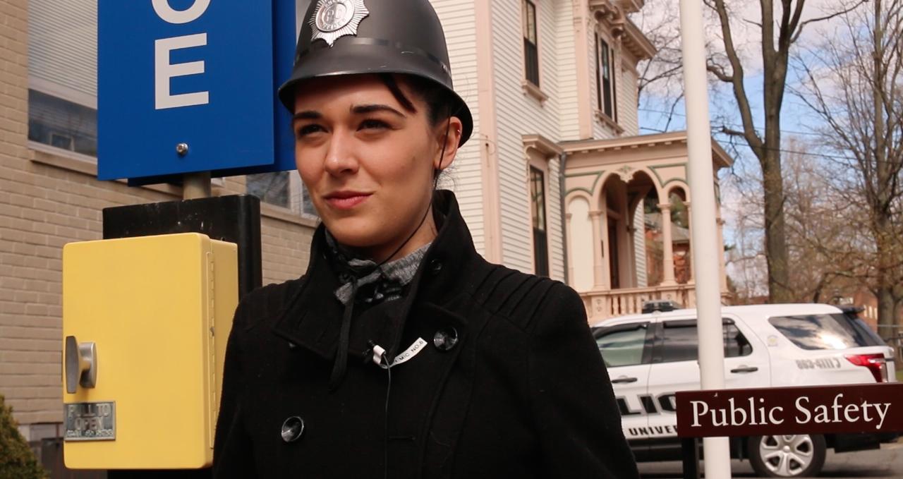 Antonia Gramscini, Police Officer