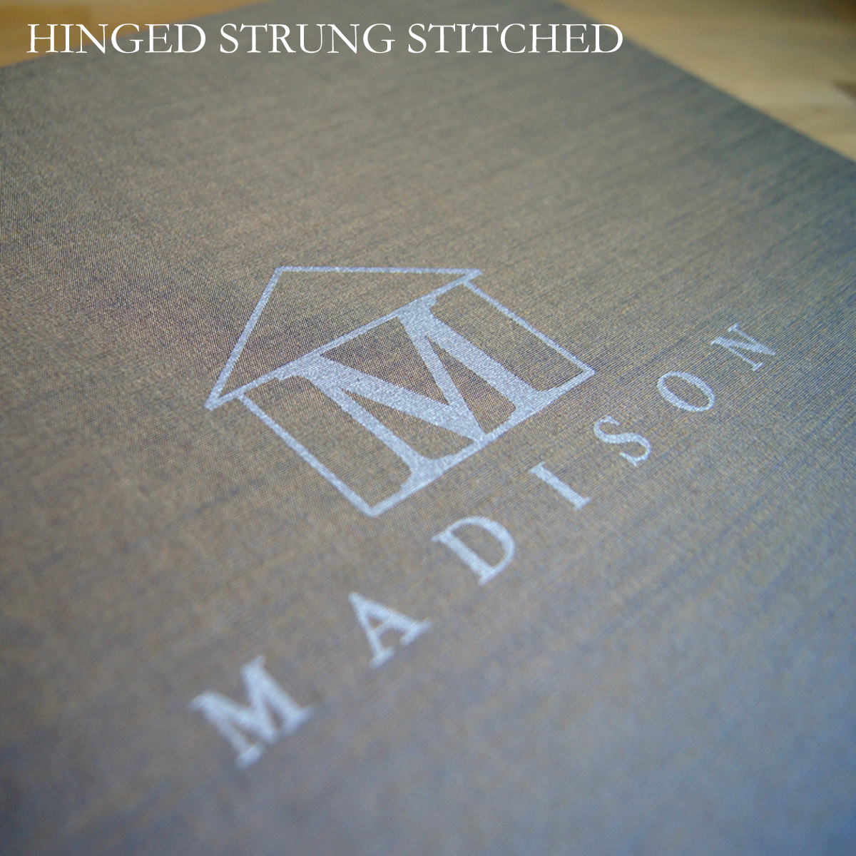Silkscreened Logo on Portfolio