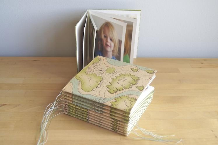 Machine-Sewn Booklet