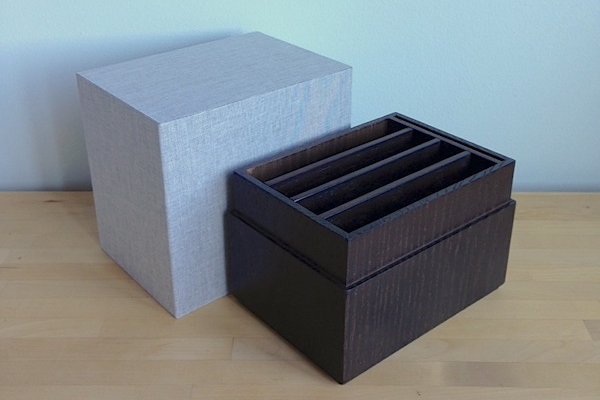 Custom Cloth Lid fit to Wooden Base