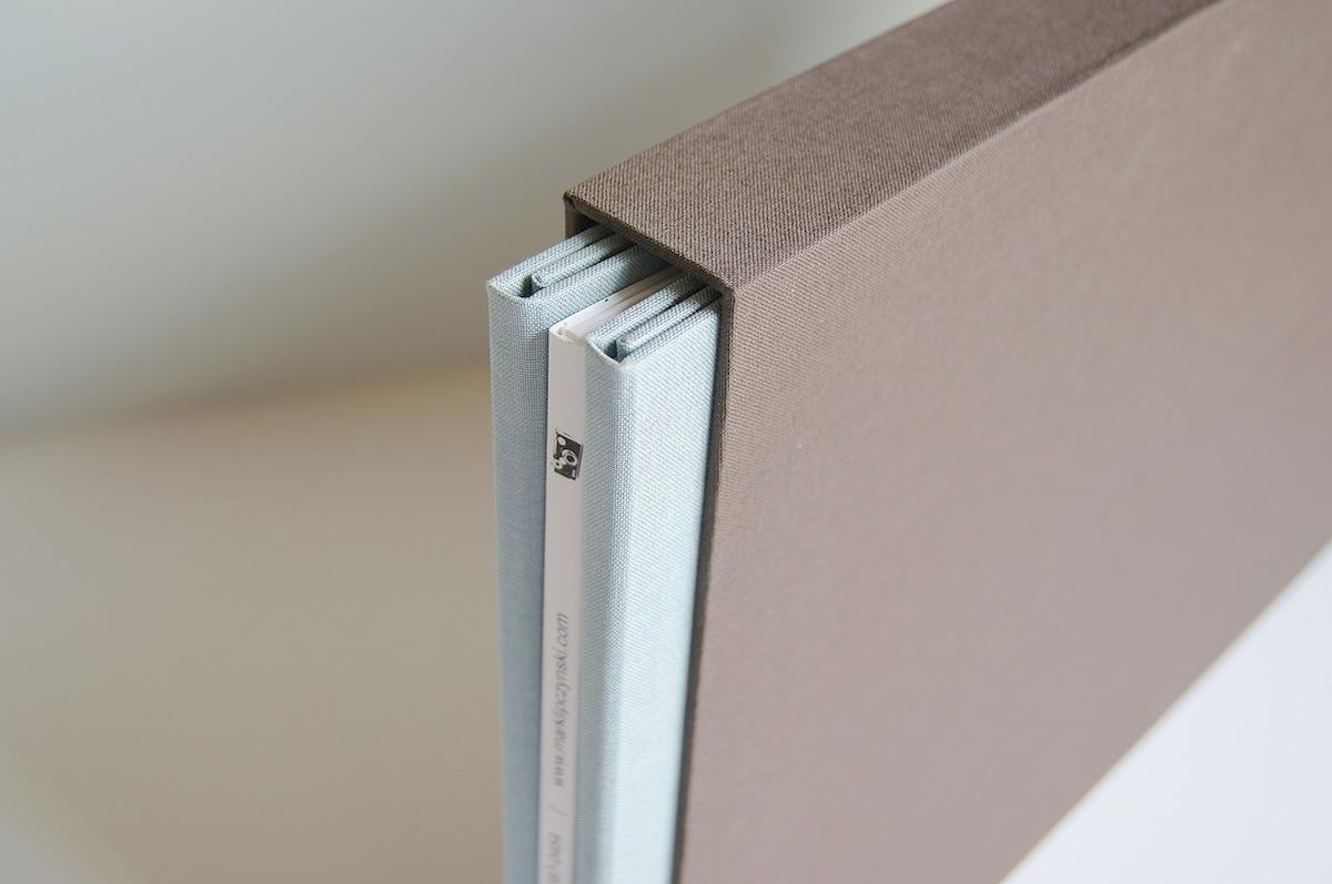 Custom Slipcase for Portfolio