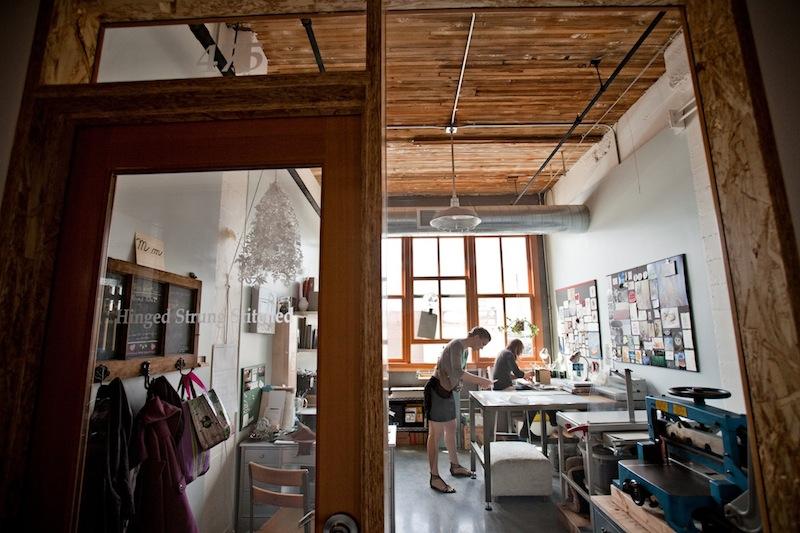 Hinged Strung Stitched Studio