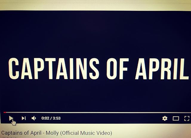 """We're really excited to release a special """"director's cut"""" of our music video for Molly tomorrow!"""