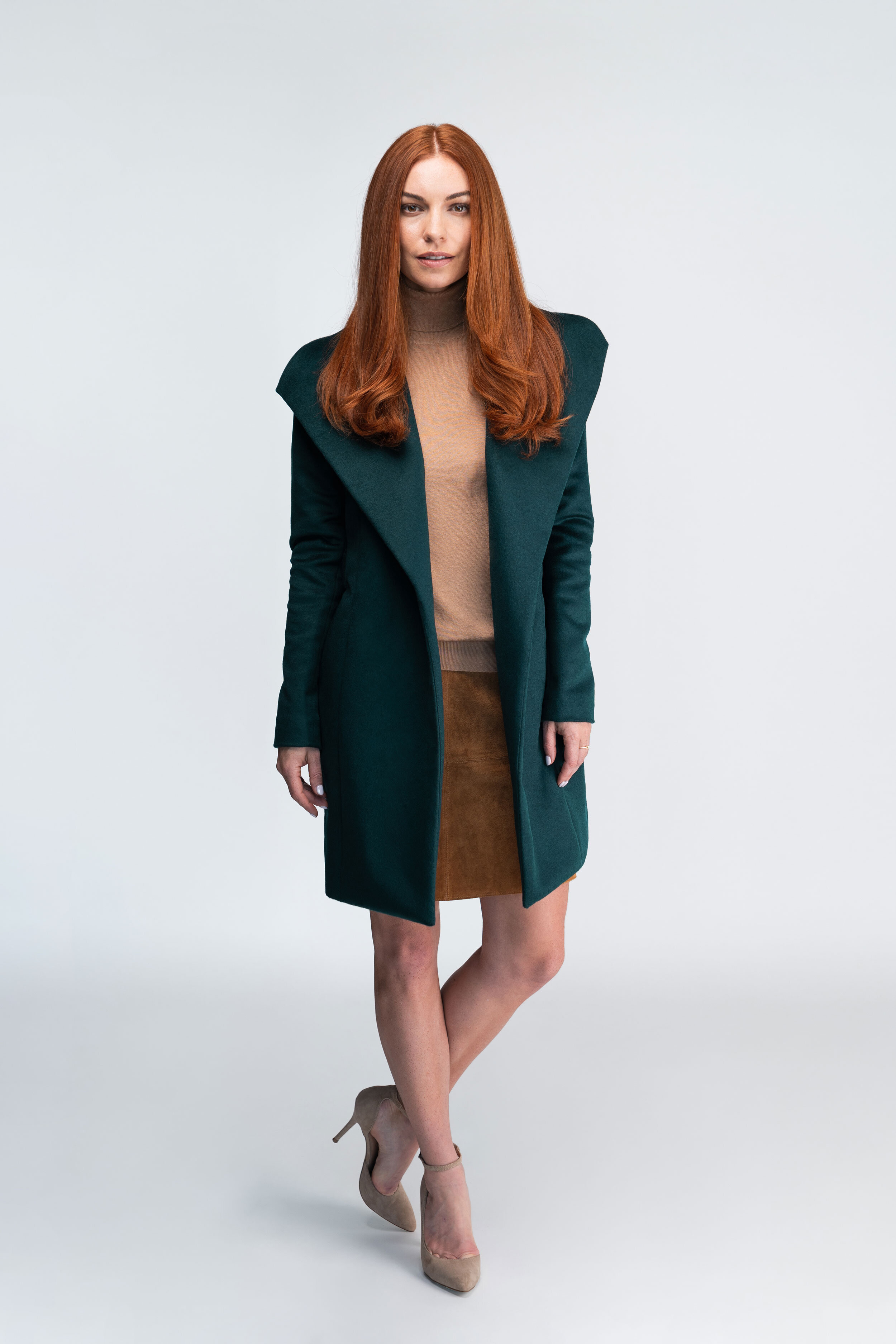 Forest-Green-Wrap-Coat-Wool-Front-Open.jpg
