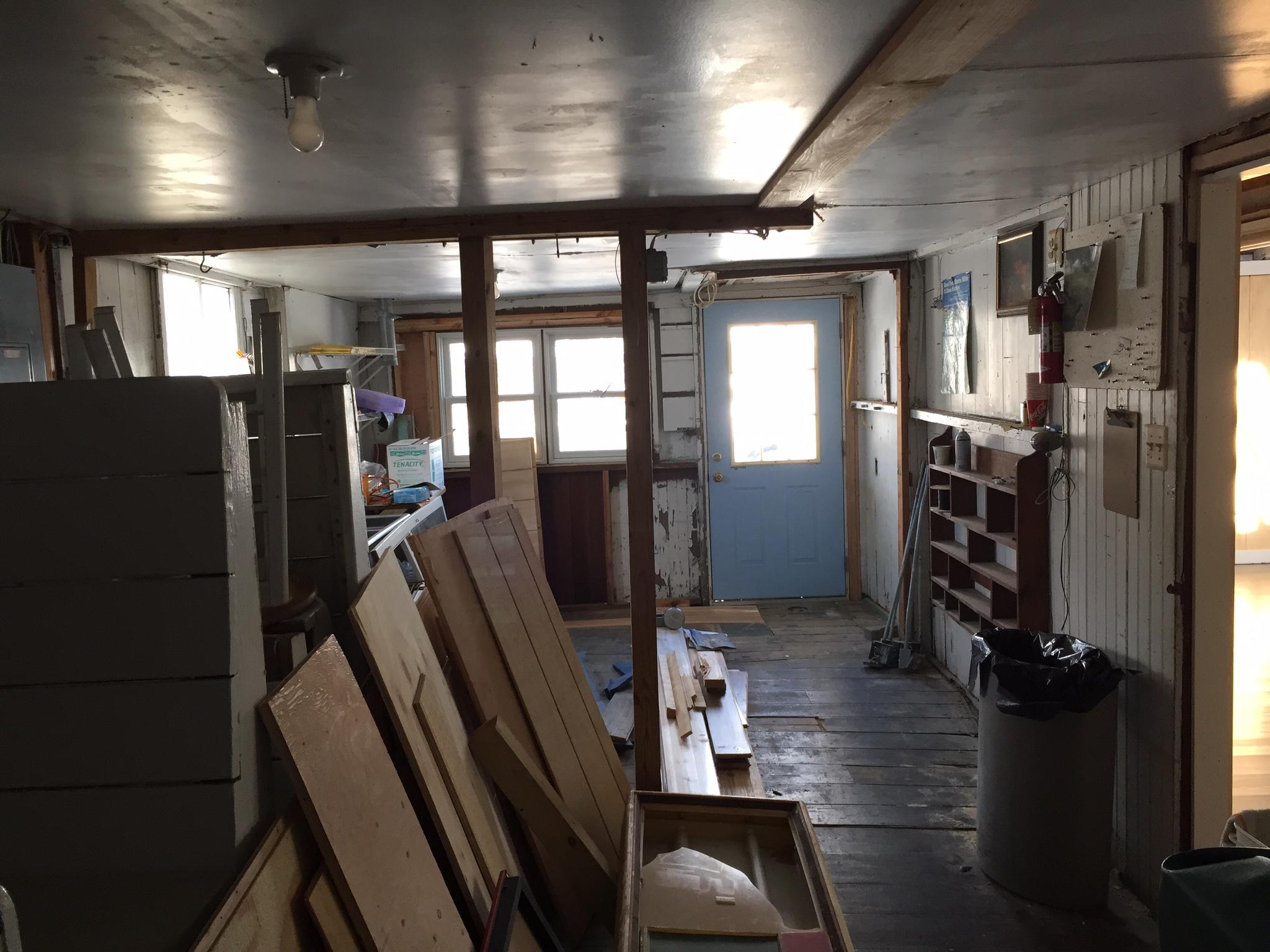 Kitchen pre-construction