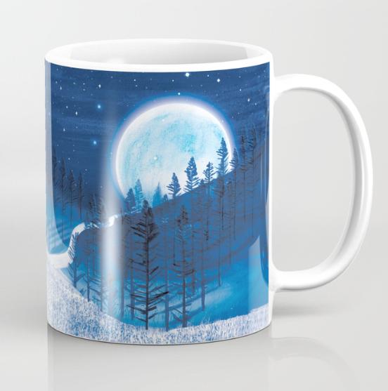 Bluebells Forest Mug