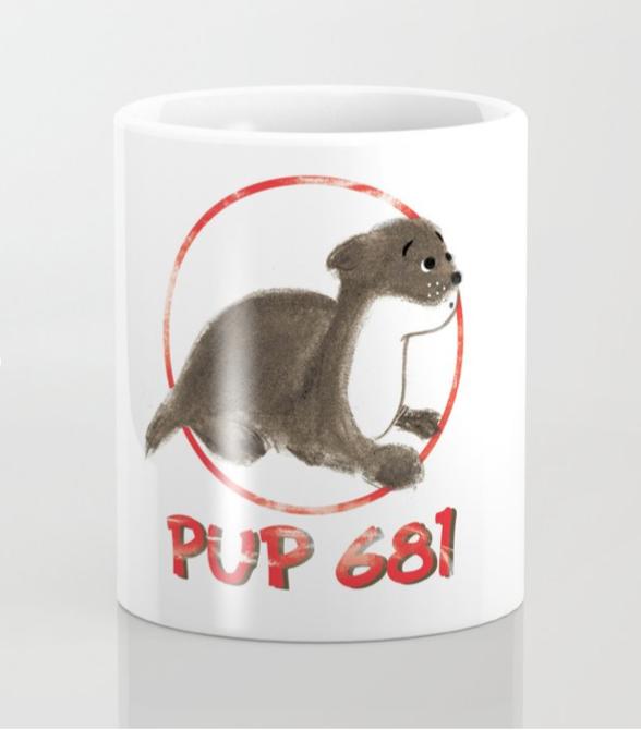 Pup 681 Coffee Mug