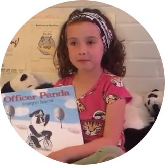 Gwen's World Review of Officer Panda
