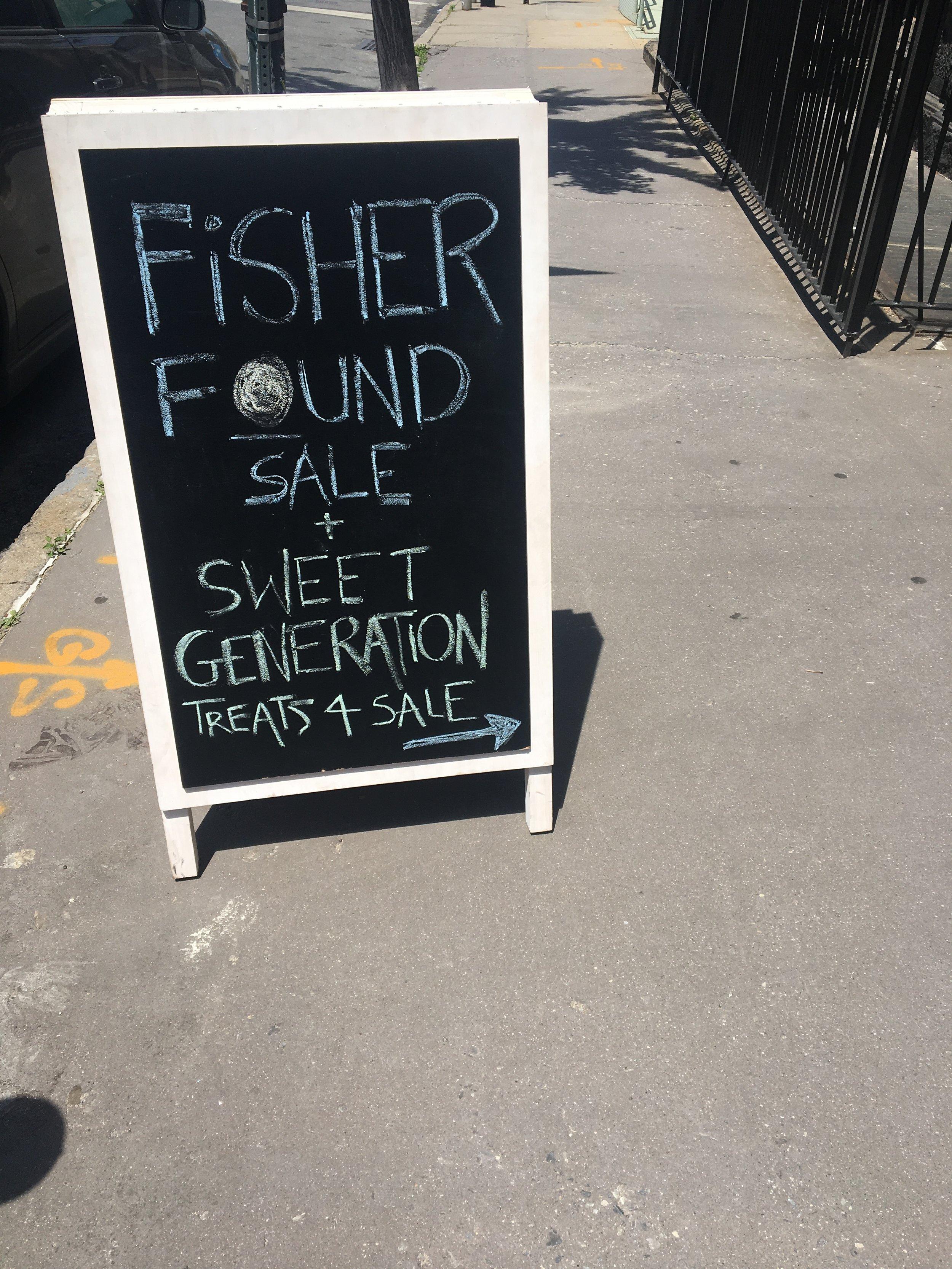 fisherfoundwarehousesalesignage.JPG