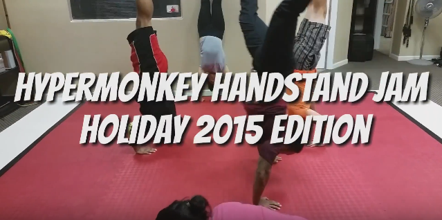 The Very First Hypermonkey Handstand Jam!