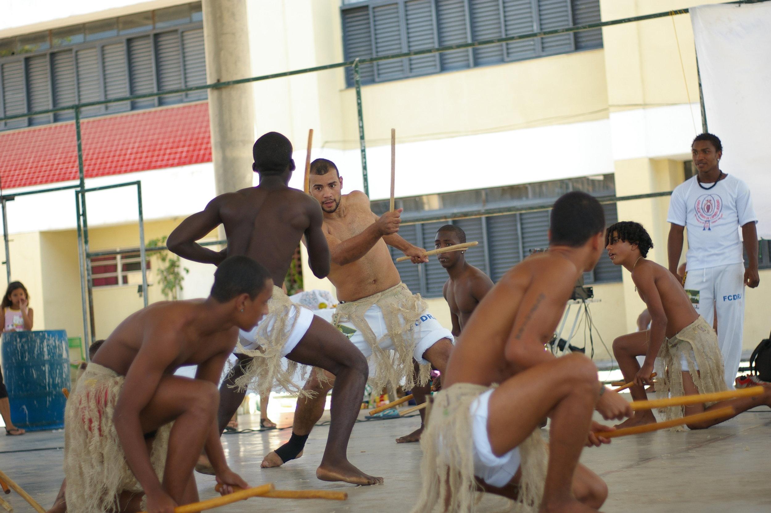 Maculelê - Capoeira Besouro - Rio de Janeiro, Brazil - 2009