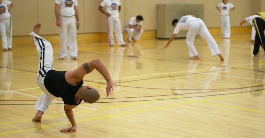 Training - Capoeira Narahari - Stanford, CA - 2010