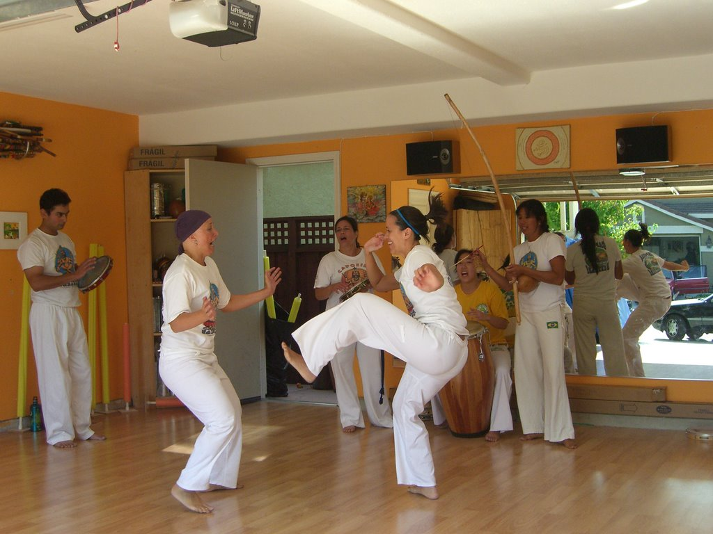 Training - Capoeira Narahari - Brazivedas Studio, East Palo Alto, CA - 2010