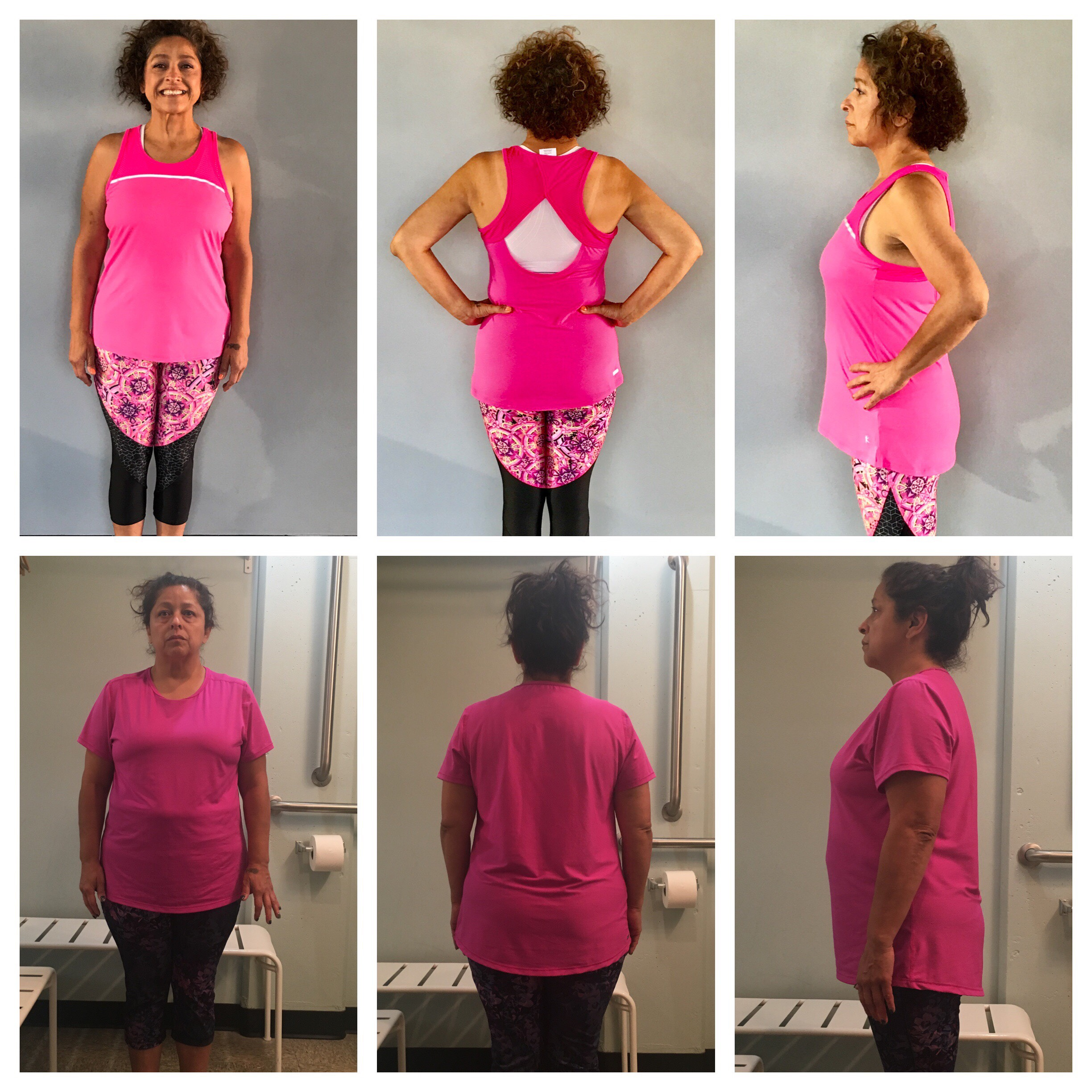 Laura lost 55 lbs in 10 months.