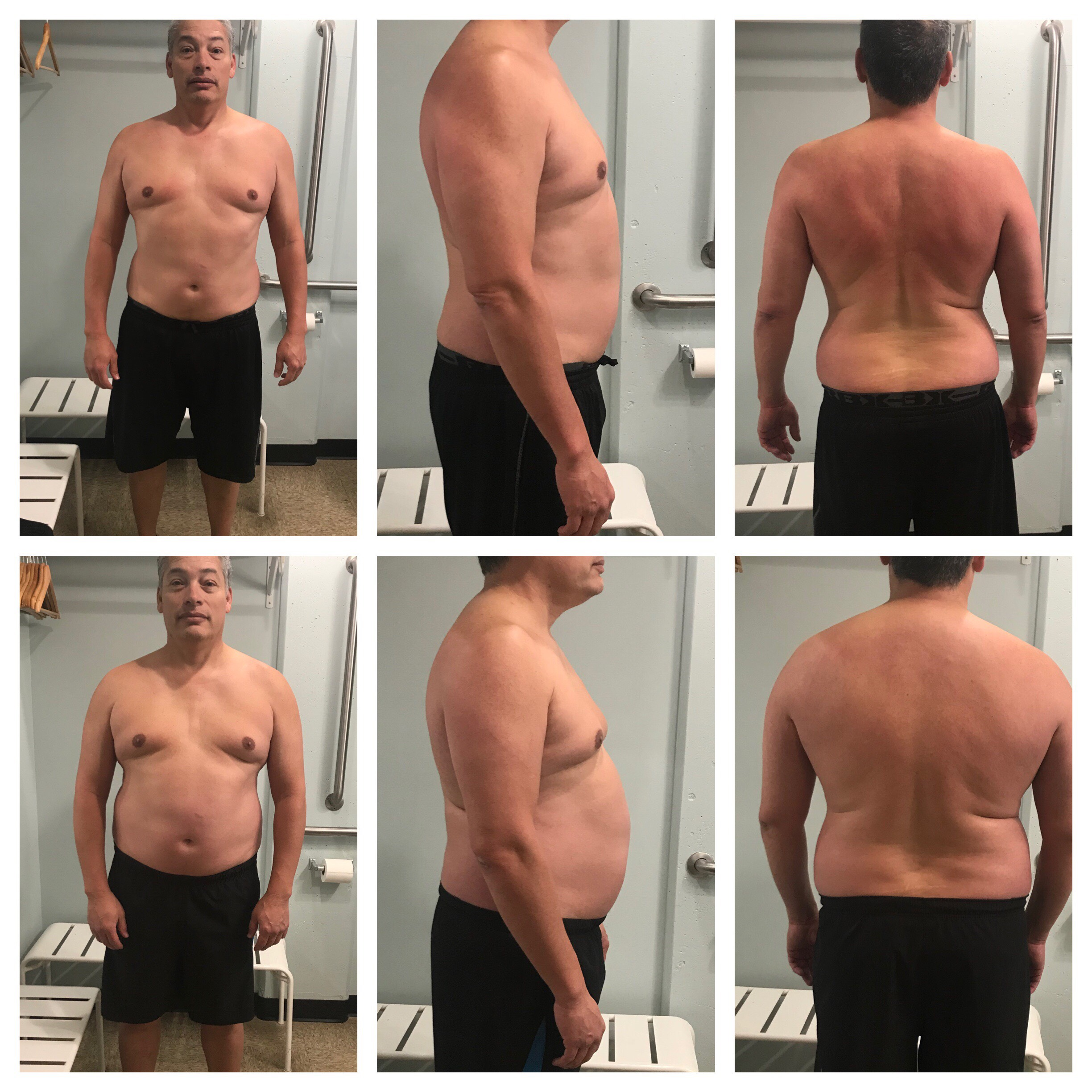 Gary lost 22 lbs in 3 months.