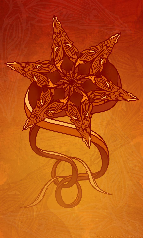 Dragon Mandala Poster - 2016-6