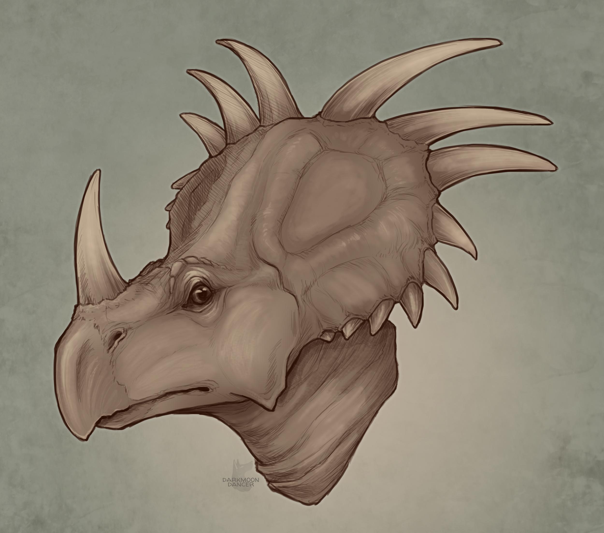 Styracasaurus Portrait.png